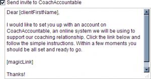 Invite client