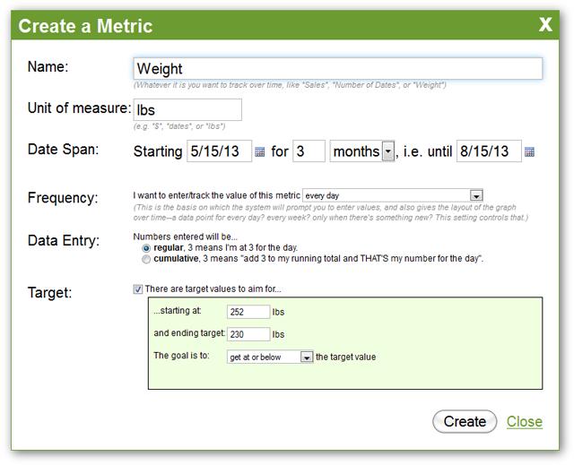Metric Creation - Measurement