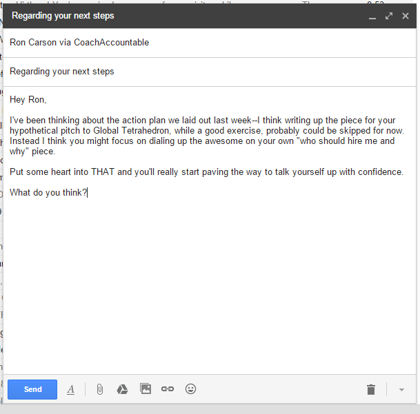 Just like sending a regular email, because, um, it is.