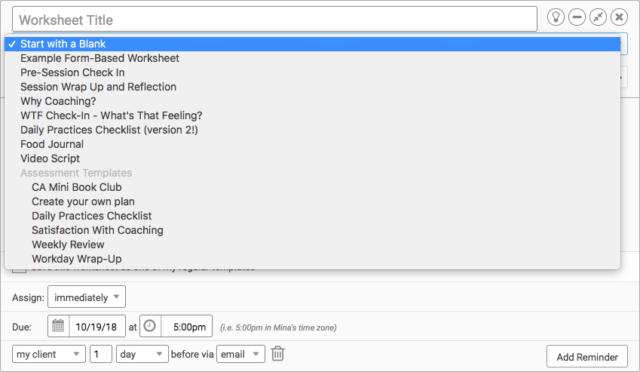 Using Worksheets The Basics