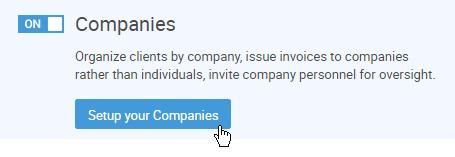 Turning on Companies